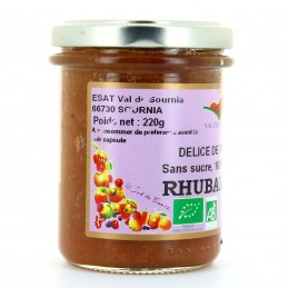 Délice 100% fruits rhubarbe...