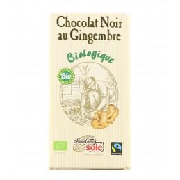 Chocolat noir au gingembre...