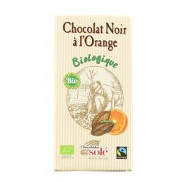 Chocolat noir à l'orange...