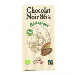 Chocolat noir 86% sans...