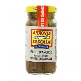 Filets d'anchois à l'huile...