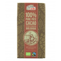 Pâte 100% cacao blister 10...