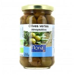 Olives vertes dénoyautées 6...