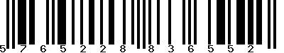 EAN-13 : 5765228836552