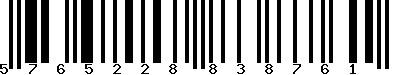 EAN-13 : 5765228838761