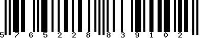 EAN-13 : 5765228839102