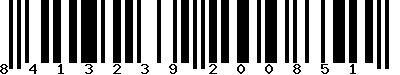 EAN-13 : 8413239200851